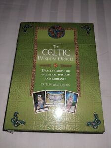 CELTIC Wisdom Oracle Cards - Caitlin Matthews - Sealed - Brand New
