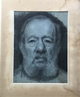 PORTRAIT - MANN MIT BART - MEN WITH BEARD - HIGH QUALITY - 44 X 35 CM