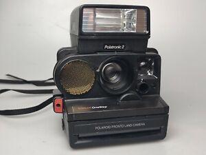 Polaroid Sonar One Step With Flash Sx-70