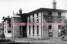 ES 462 - Howard's Road Lying In Hospital, Plaistow, London, Essex - 6x4 Photo