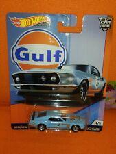 # 1/64 HOT WHEELS PREMIUM - '69 FORD MUSTANG BOSS 302 GULF (CAR CULTURE) MISB#