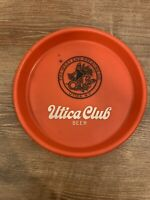 Utica Club Brewery Vintage Beer Tray The West End Brewing Co. Red