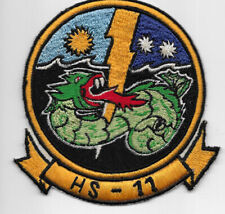 Theatre Made USN HS-11 Squadron Patch