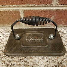 Lodge Cast Iron Bacon Grill Sandwich Press Coiled Handle