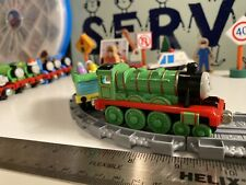 2002 THOMAS & FRIENDS HENRY TAKE ALONG DIECAST METAL TRAIN ENGINE And Chick Car