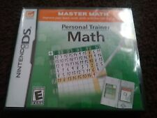New Personal Trainer: Math (Nintendo DS, 2009) Freeshipping