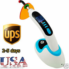 10W LED Dental Curing Light Lamp 2000MW Wireless +Teeth Whitening【2-5 Day to US】