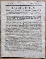 L'ami du Roi 1791 Journal Royaliste Tarbes Bois-Landry Révolution Française