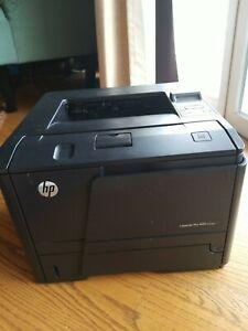 HP LaserJet Pro 400 M401dne tested works