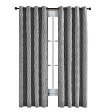 100% Blackout Curtain Jacquard Thermal Insulated Victoria Panels ( Set Of 2)