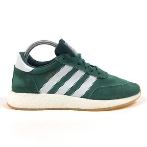 Adidas Originals Iniki Runner Boost Men 11 Green White Low Shoes Sneakers BY9726
