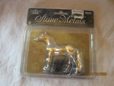 Stone Horses by Schylling metal horse New Never Opened from 2006 Andalusian