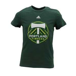 Portland Timbers Official MLS Adidas Kids Youth Girls Size T-Shirt New with Tags