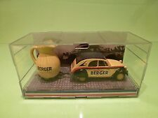 NOREV CITROEN 2CV BERGER - YELLOW 1:43 GOOD CONDITION IN BOX