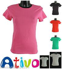 Markenlose Kurzarm Mädchen-T-Shirts & -Tops ohne Muster