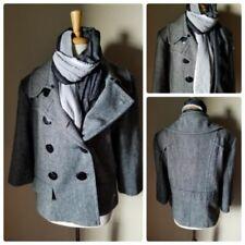 bbea8347b1185c Cappotti e giacche da donna grigi in misto lana | Acquisti Online su ...