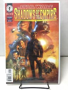 Star Wars Shadows of the Empire #1 - Dash Rendar - NM- (9.2) - Dark Horse, 1996