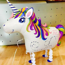 Unicorn Aluminium Air Helium Foil Balloon Walking Animal Cute Kids Party Decor
