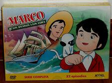 MARCO DE LOS APENINOS A LOS ANDES SERIE COMPLETA PACK 6 DVD NUEVO PRECINTADO R2