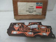 Mopar NOS 74-76 Dodge Chrysler Imperial Printed Circuit Board Iluminated 3592457