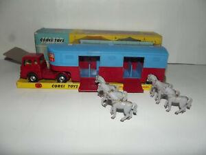"""CORGI : 1130 Autoarticolato """"Chipperfields Circus"""" ottimo in scatola originale+"""