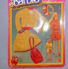 Barbie 1980s Pack Pak Fashion Twice As Nice Reversible Sweater Skirt Shoes Nrfp