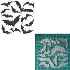 Halloween Fledermaus Metall Stencil Cutting Dies Scrapbooking Stanzschablone DIY