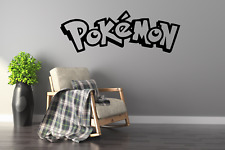 Pokemon Logo Wall Art Decal Sticker FI42