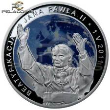 Poland 2011 20 zl Beatification of John Paul II Silver Coin Proof