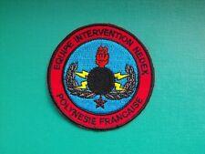 insigne tissu militaire armée écusson patch NEDEX Polynésie Française EOD