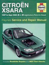 Haynes Owners + Workshop Car Manual Citroen Xsara Petrol + Diesel (97-00) H3751