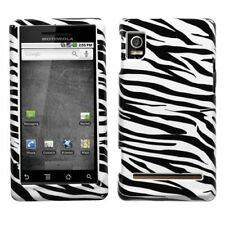 Zebra Hard Case Snap on Cover for Motorola DROID 2 A955