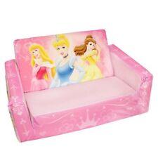 Marshmallow Fun Kids Room Furniture Flip Open Sofa Disney Princess Theme