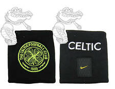 New Nike Celtic Fc Football Wristbands Sweatbands Black