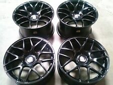 "Porsche Ruger Mesh Black 19"" wheels rims 911/987/997/996 Cayman Carrera Turbo"
