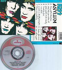KISS-ASYLUM-1985-GERMANY-ATOMIC LOGO-MERCURY RECORDS 826 099-2 M-1-PMDC-CD-M-