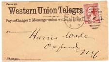 Sc#219-WESTERN UION TELEGRAPH CO.-SYRACUSE N.Y. DEC/21/1885-WITH TELEGRAM