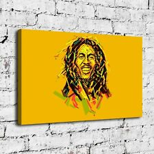Bob Marley 16''X26'' HD Canvas prints Painting Home Room Decor Picture Wall art