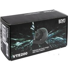 BOYO Vision VTE200 Compact Front , Side or Rear View  Eggshell Type Camera