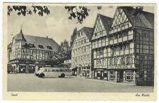 Schwarz Weiß AK Ansichtskarte Postkarte Soest Marktplatz ungebraucht Altertümer