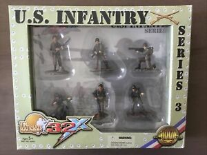 Ultimate Soldier 32x 20005 U.S. Infantry Series 3 In 1/32 Scale Bazooka New