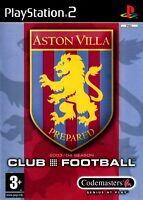 Aston Villa Club Football 2003-04 PS2 (Playstation 2) - Free Postage - UK Seller