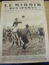 27/11/1928 le MIROIR DES SPORTS MAGAZINE: numero: 458, il contenuto da includere, FRENC