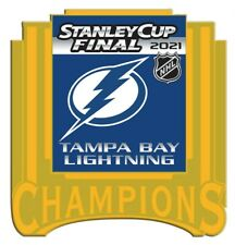 """2021 NHL Tampa Bay Lightning STANLEY Tasse Final Broche Faux Or """" Champions"""