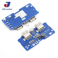 18650 Dual Micro USB 3.7V to 5V 2A Led With Module Up Step Board PCB Charger