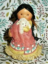 """1994 Enesco Friends For The Feather """"She Who Cares A Lot"""" In Box"""