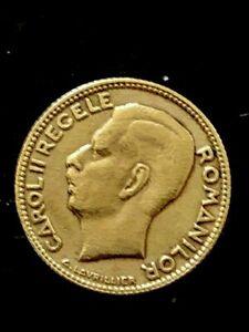 ROMANIA- 10 LEI  ''KING  CARLOS II'' YEAR 1930(1930-1940) SCARCE!!!