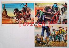 Album LONTANO WEST 1 DARDO 1962 - 3 figurine 39 40 42