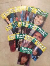 The Official David Cassidy Magazine Set of 31 Issues RARE