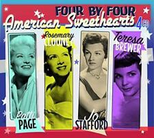 Patti Page Rosemary Cloosey Teresa Brewer Jo Stafford - American Sweet (NEW 4CD)